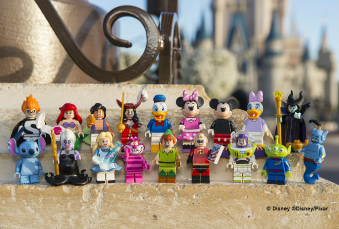 figurines lego disney
