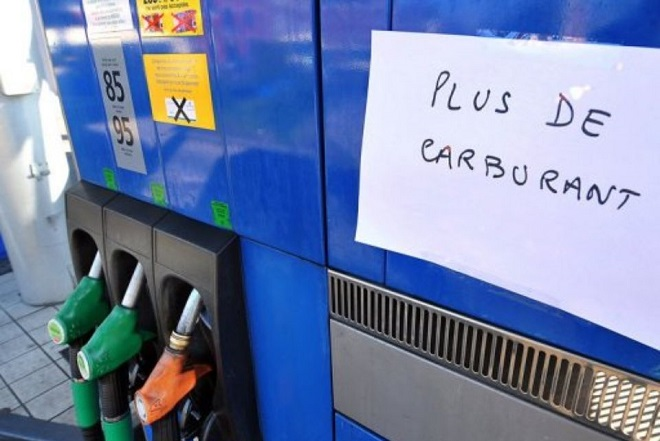 penurie carburant