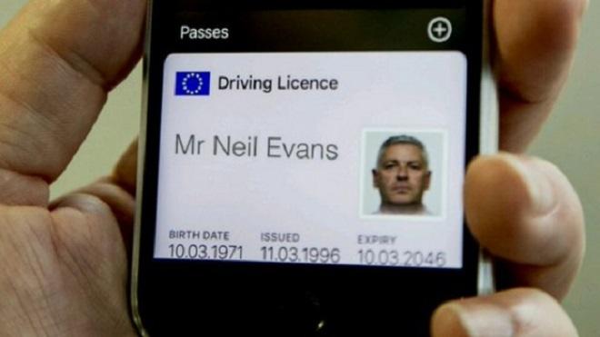 permis de conduire numerisé