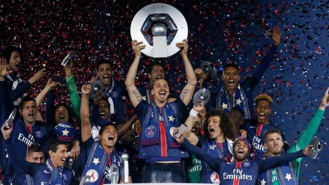 PSG champion 2016