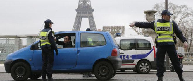voitures interdits de circuler parsis