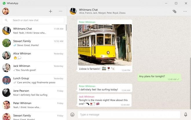 whatsapp pour desktop