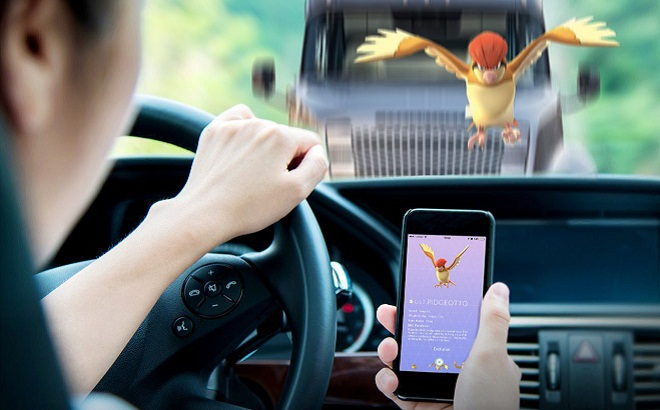 Pokemon Go accident