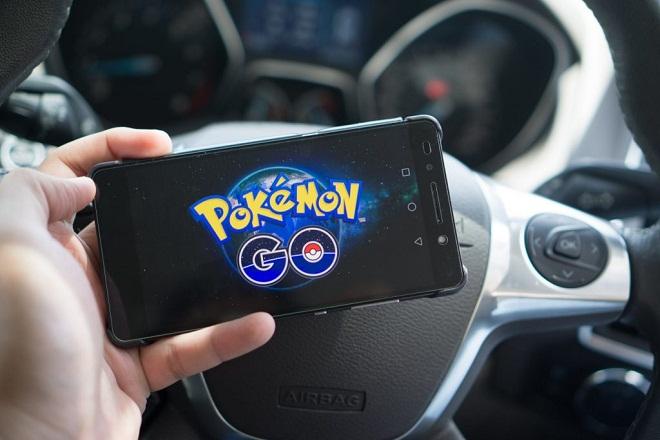 Accident pokemon go