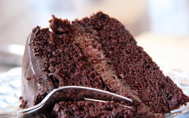 Manger Du Gâteau Au Chocolat Au Petit Déjeuner Serait Bon Pour Vote