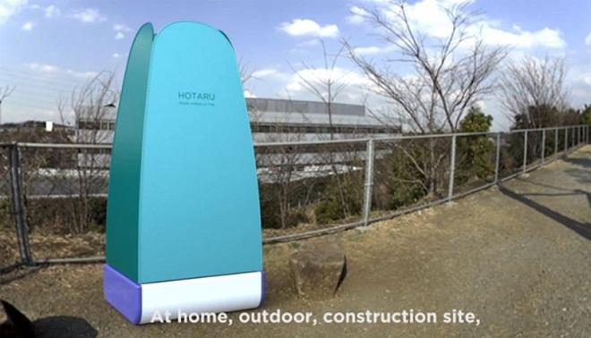 Avec sa douche révolutionnaire, Hotaru vous fait réaliser une économiedrastique d'eau